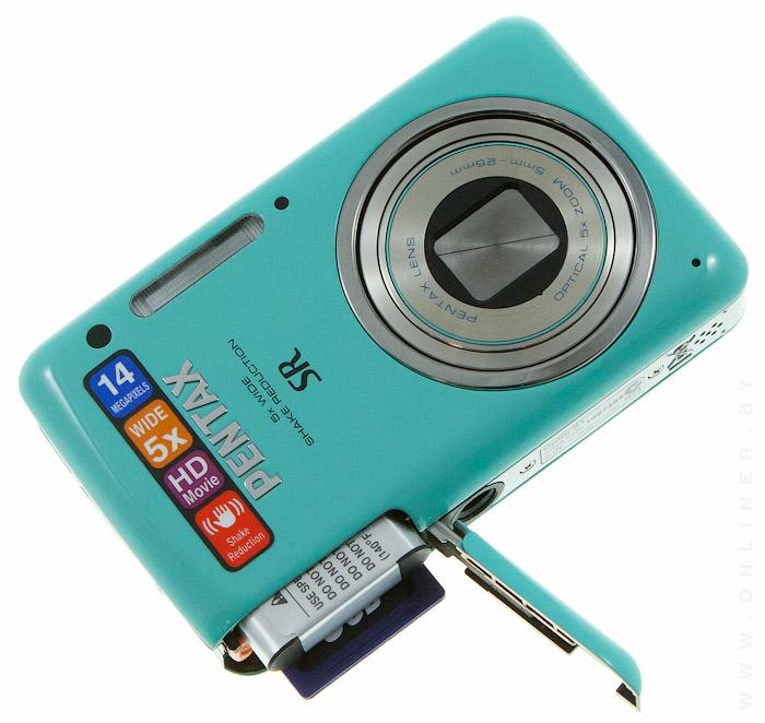 Обзор стильной компактной камеры Pentax Optio S1 ...: https://tech.onliner.by/2011/08/17/pentax_optio_s1