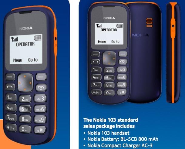 Nokia выпустит самый дешевый телефон