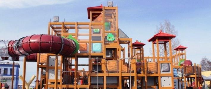 В Финляндии открылся парк развлечений Angry Birds Land
