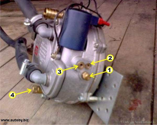 Регулировка газового редуктора 1 поколения своими руками 57