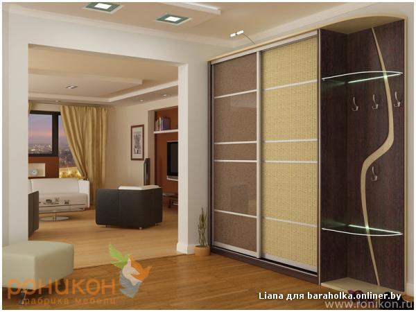Наша компания занимается изготовлением мебели на заказ: шкафы и шкафы купе, прихожие, детская и кухонная мебель на
