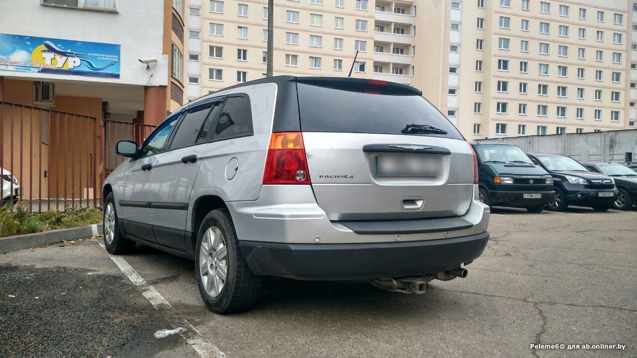Chrysler Pacifica 3.8 V6 (218 Hp)