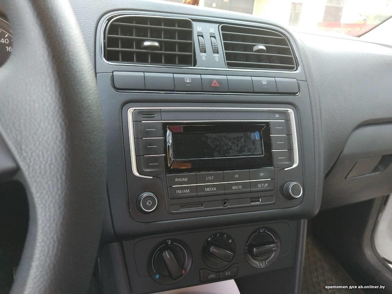 Volkswagen Polo Sedan Trendline 110л.с.