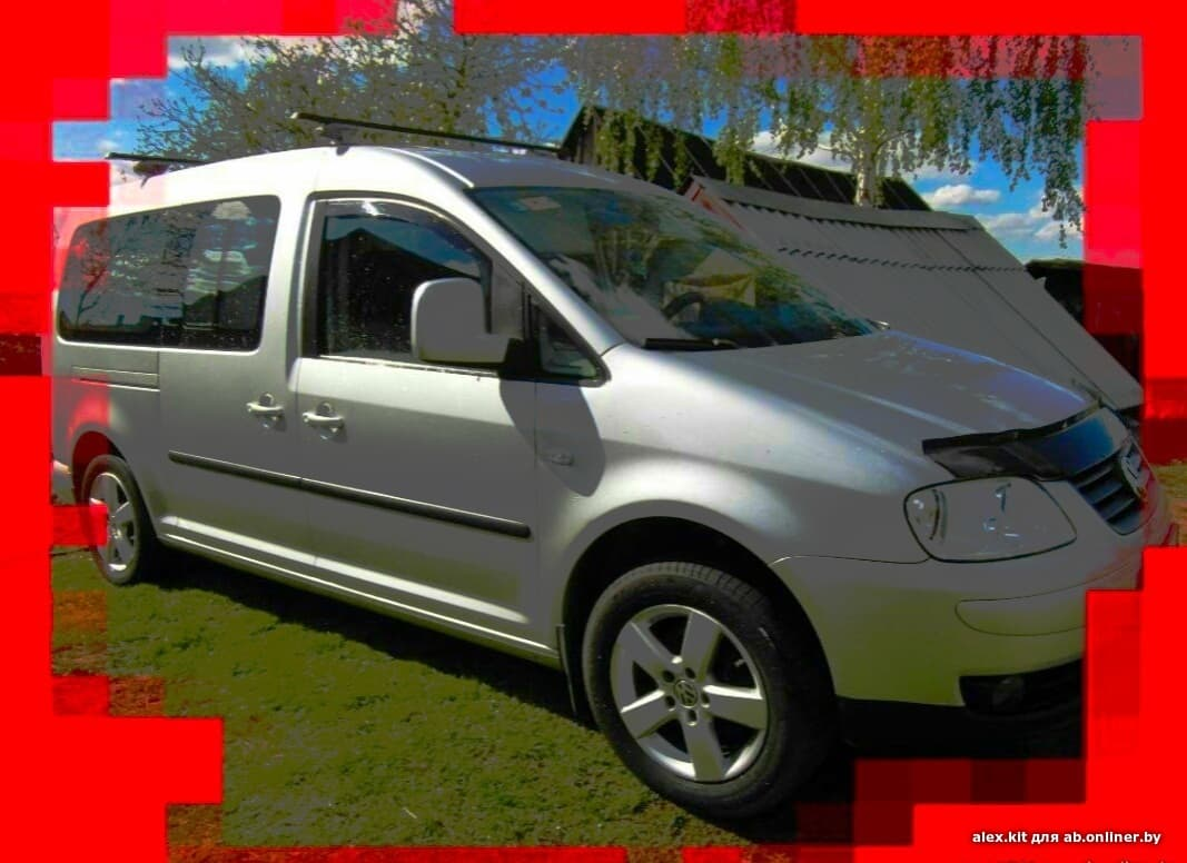Volkswagen Caddy -- 7sit.-- Life _ TEAM