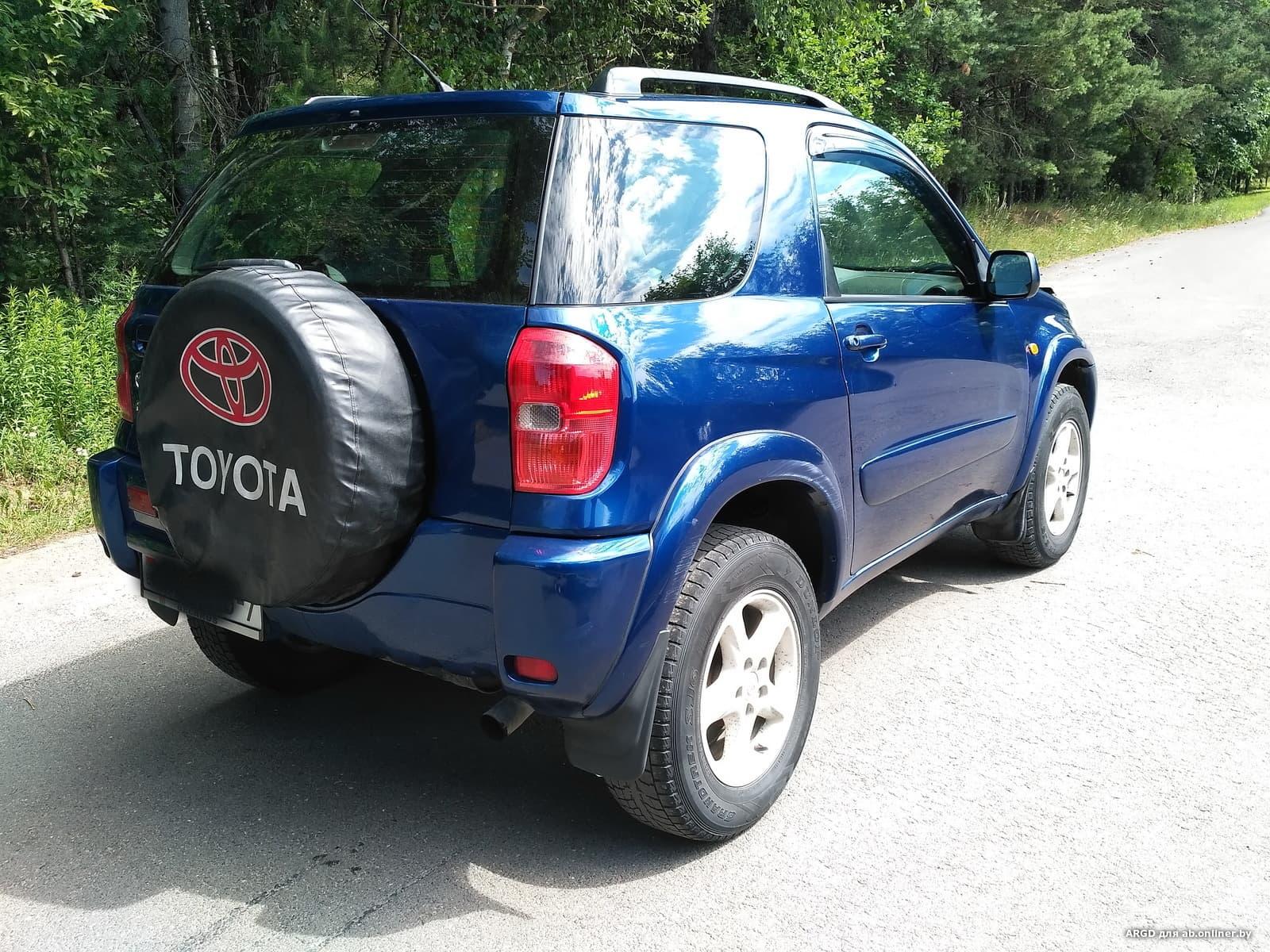 Toyota RAV4 3 двери