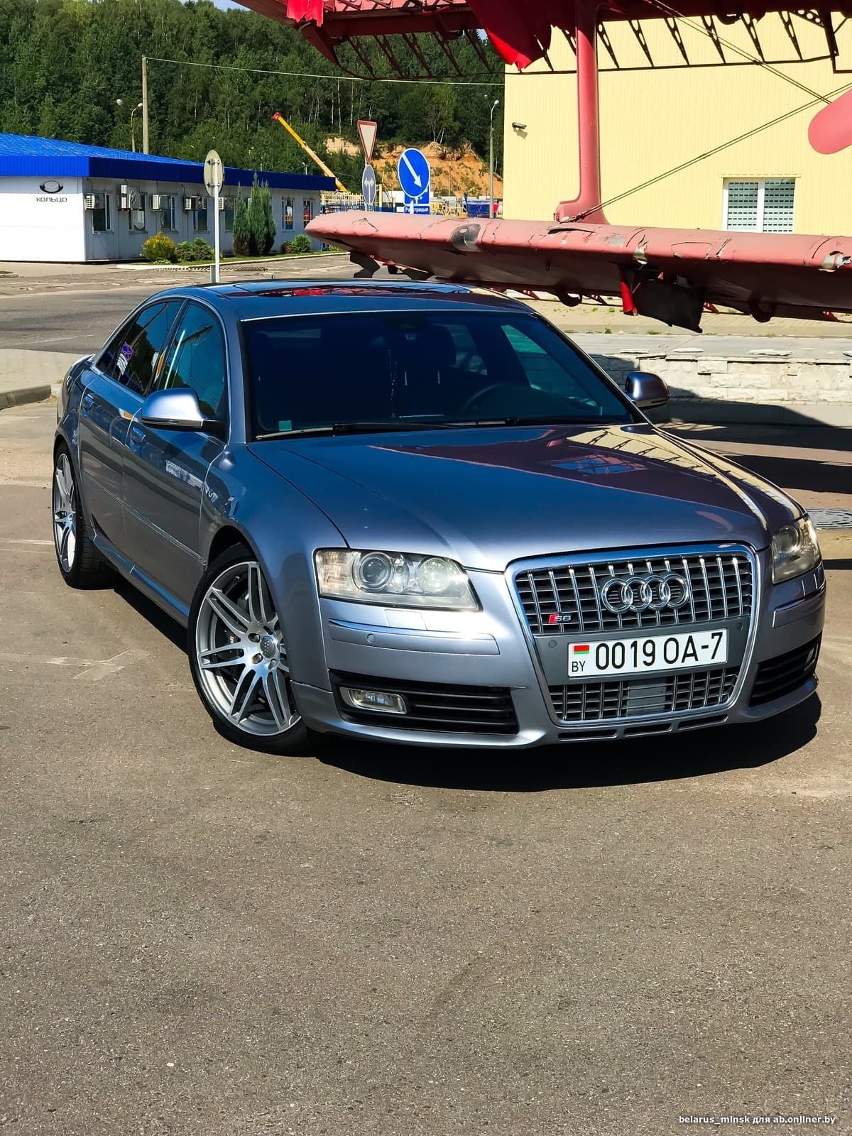 Audi S8 Restailing