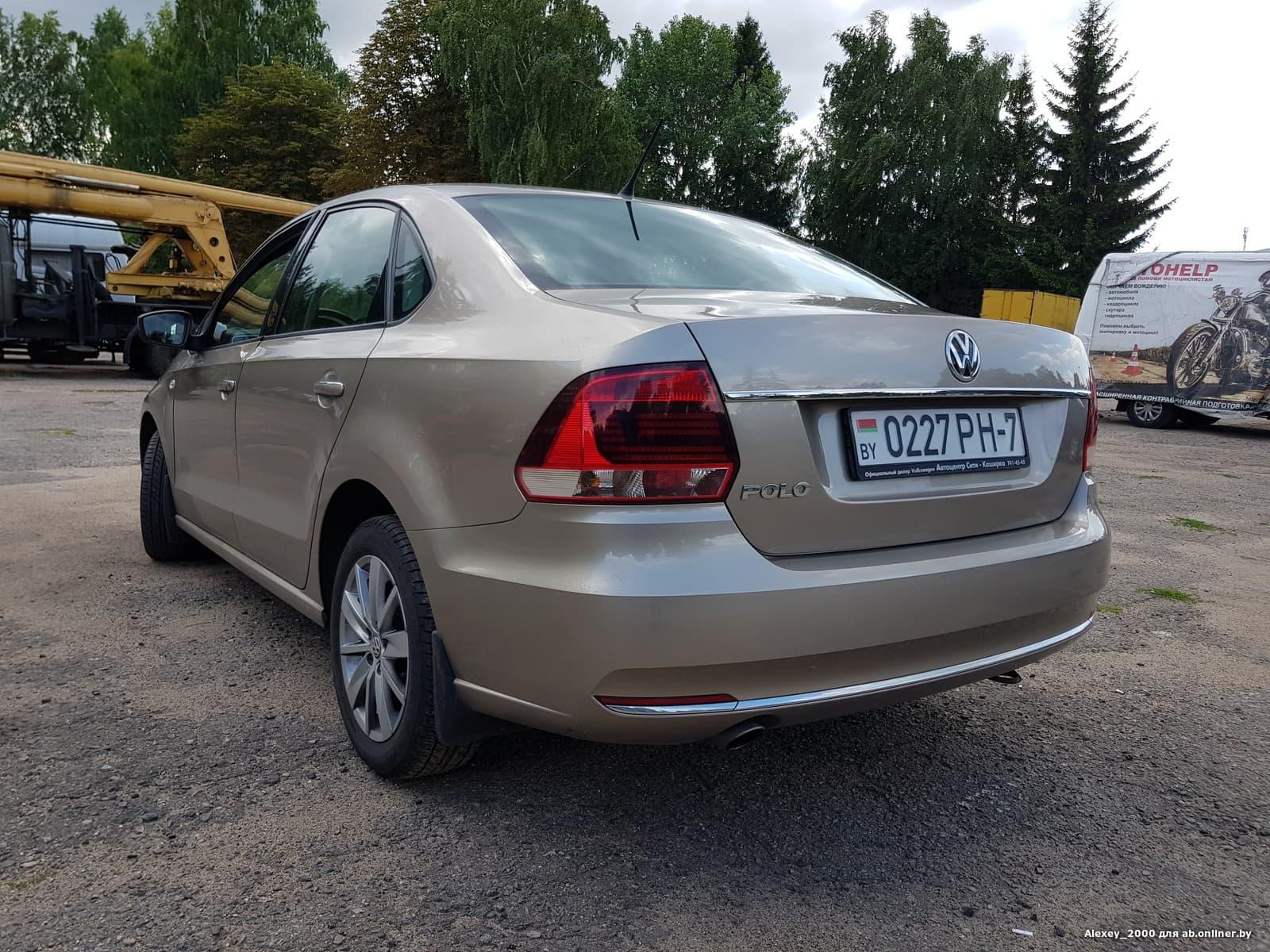 Volkswagen Polo Sedan Highline