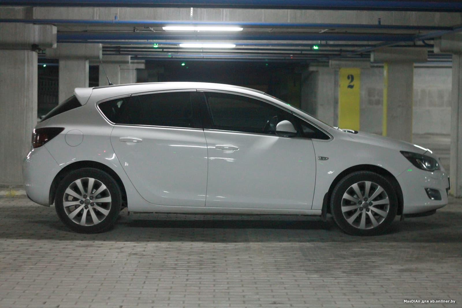 Opel Astra J Cosmo Turbo