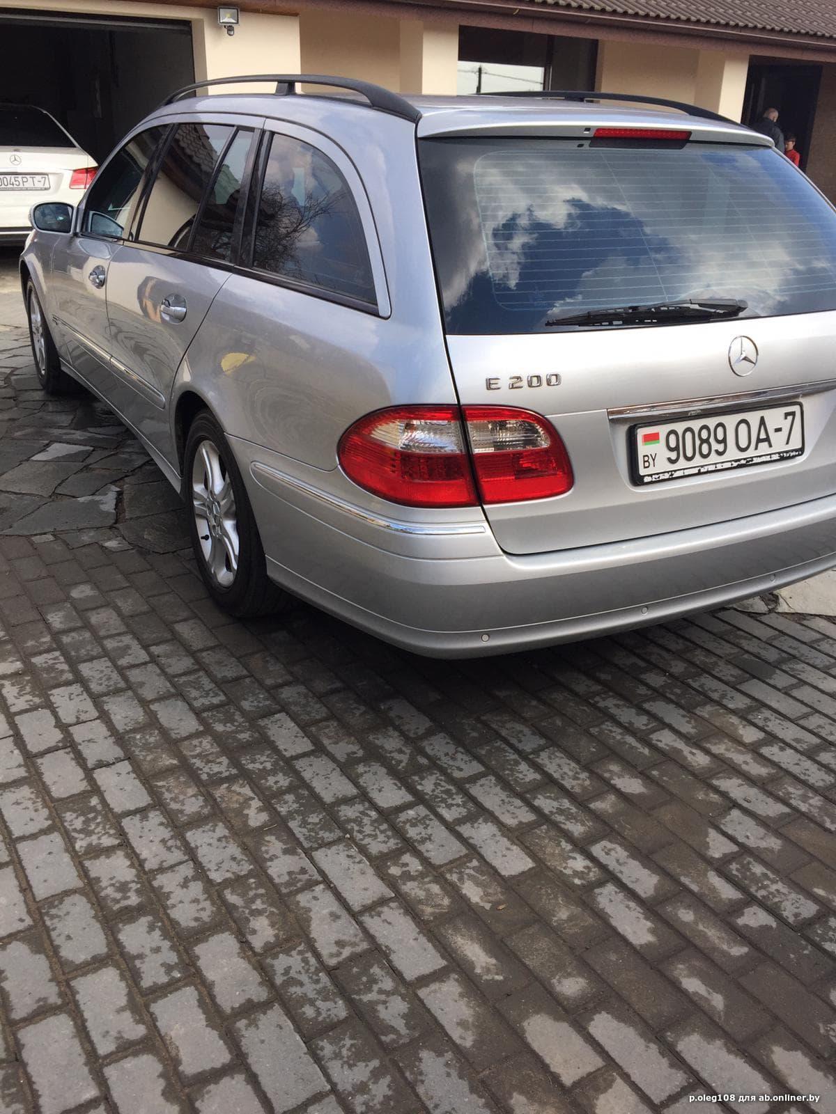 Mercedes-Benz E200 Compressor
