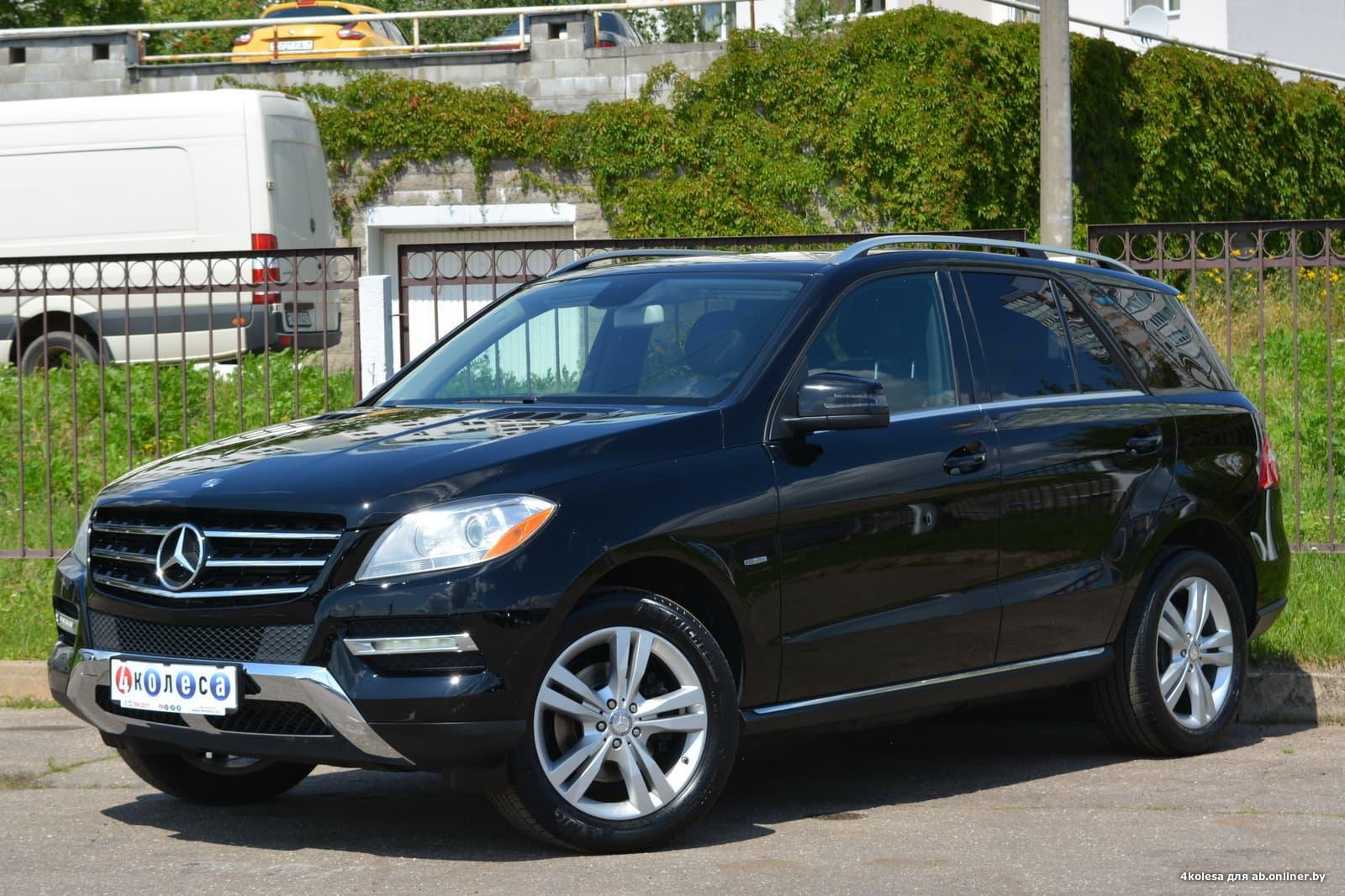 Mercedes-Benz ML350 ML350D BlueEFFICIENCY