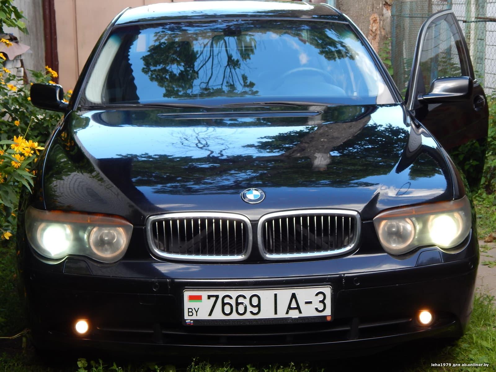 BMW 745 Е65