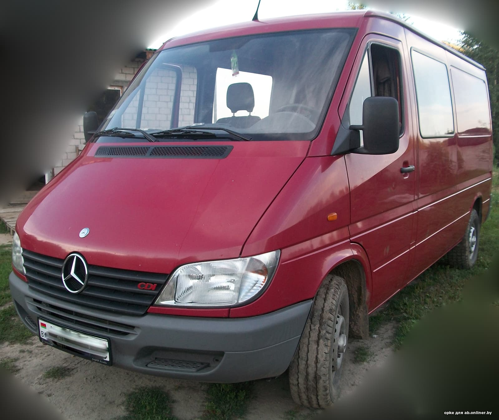 Mercedes Sprinter Грузопассажир