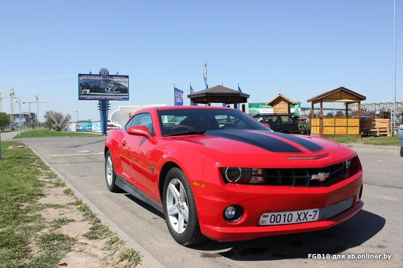 Chevrolet Camaro Transformer Edition