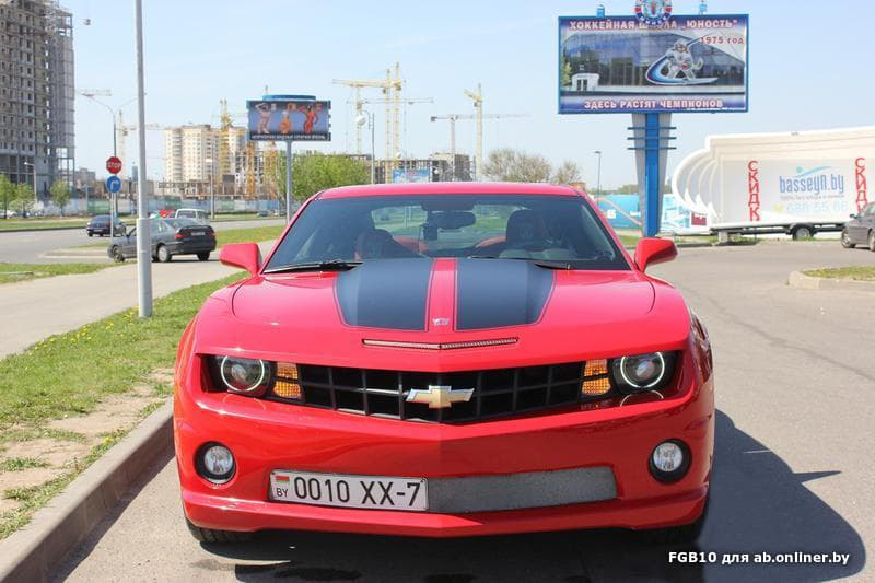 Chevrolet Camaro Transformer Edition