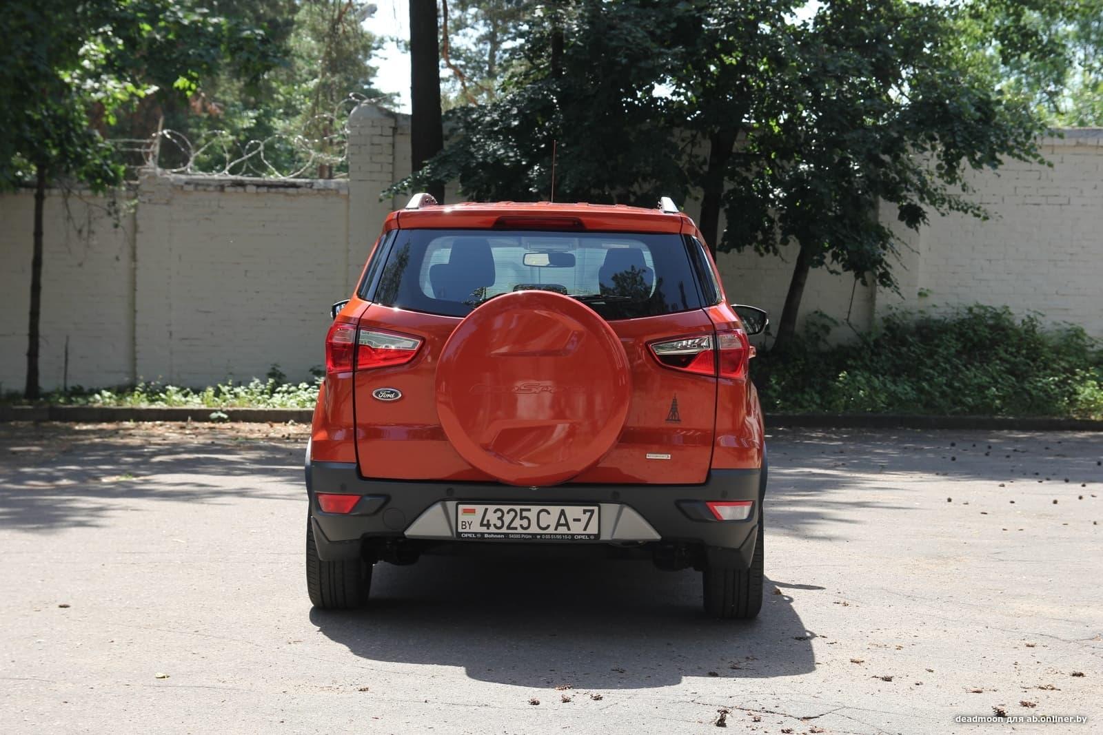 Ford EcoSport Европеец