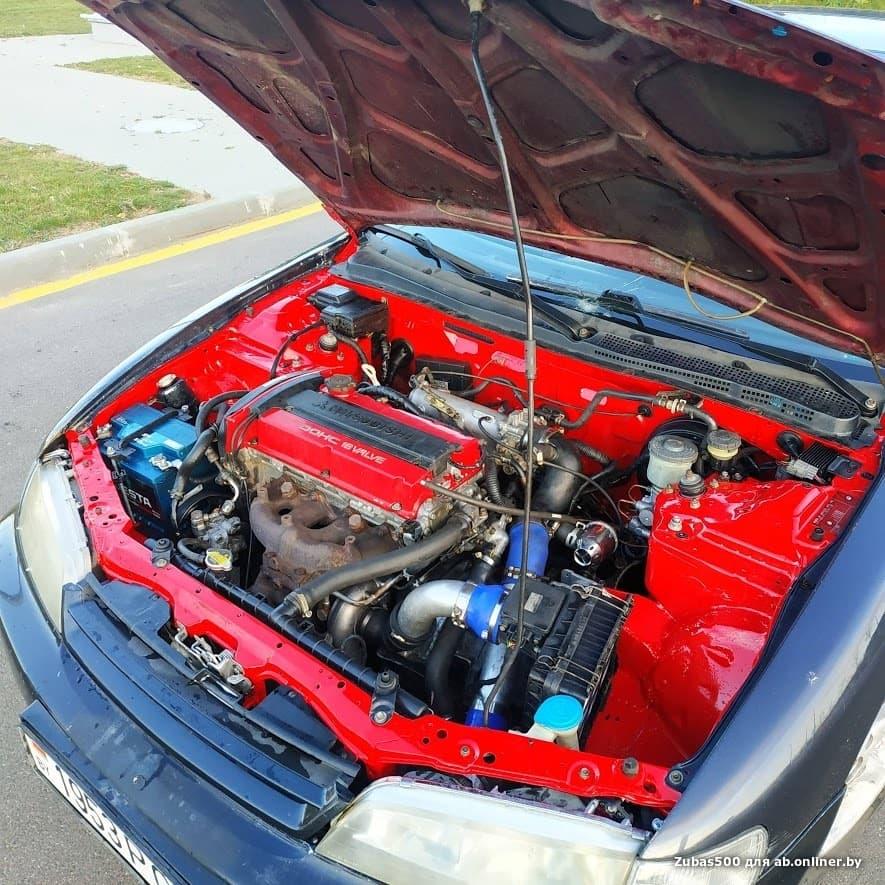 Honda Accord swap 4G63T (Evolution)