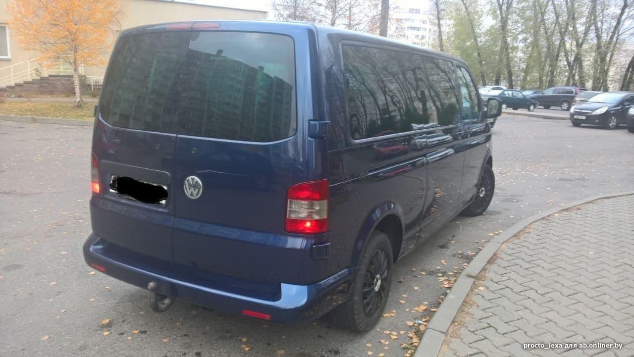 Volkswagen T5 Caravelle LONG 4motion