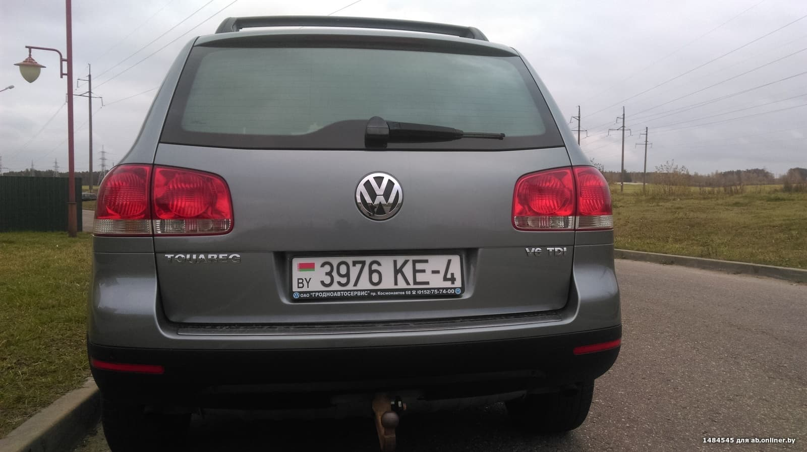 Volkswagen Touareg 3.0 V6 TDI 6МКПП