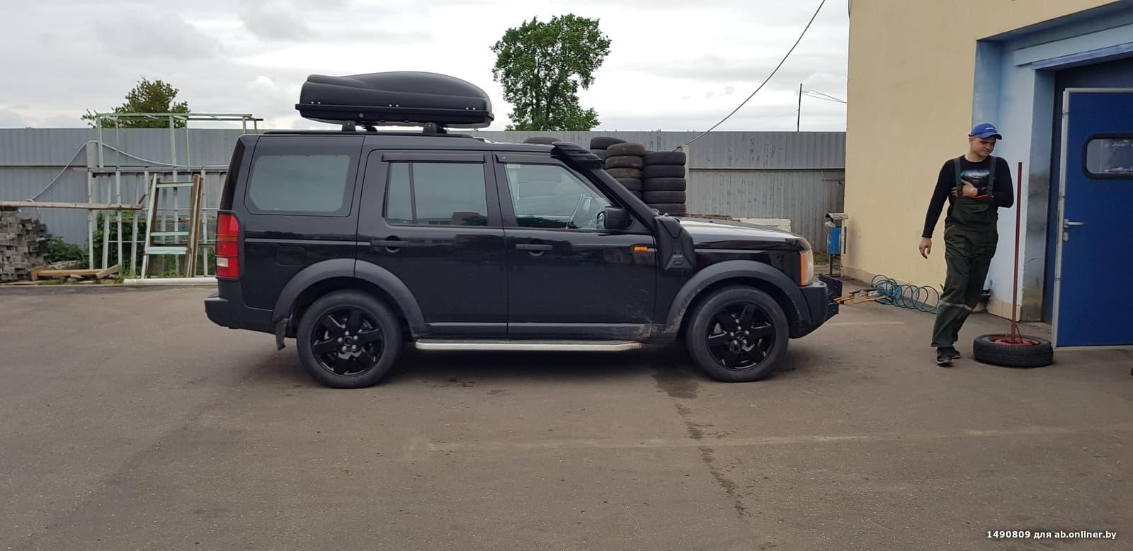 Land Rover Discovery 3 HSE расширенная