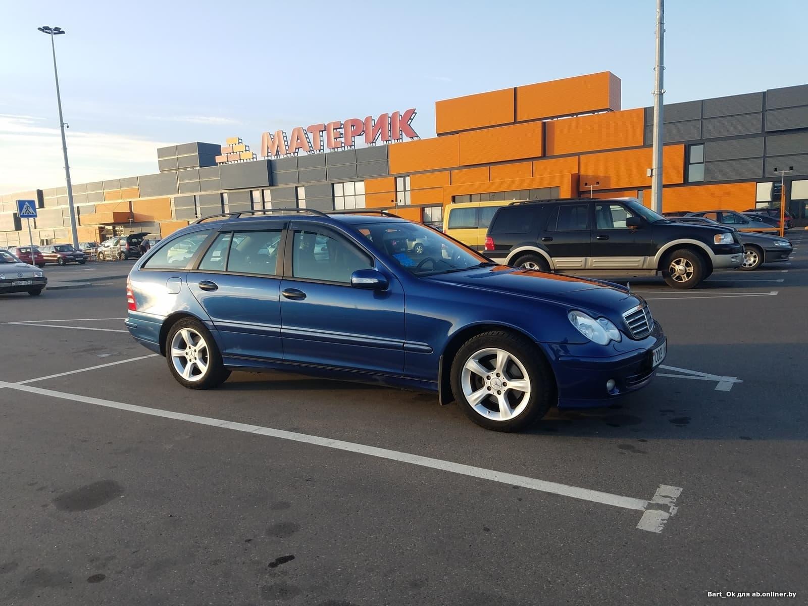 Mercedes C220 T   CDI