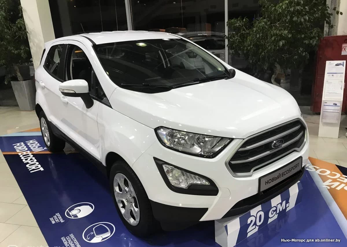 Ford EcoSport TREND 1.5 л 5МКП