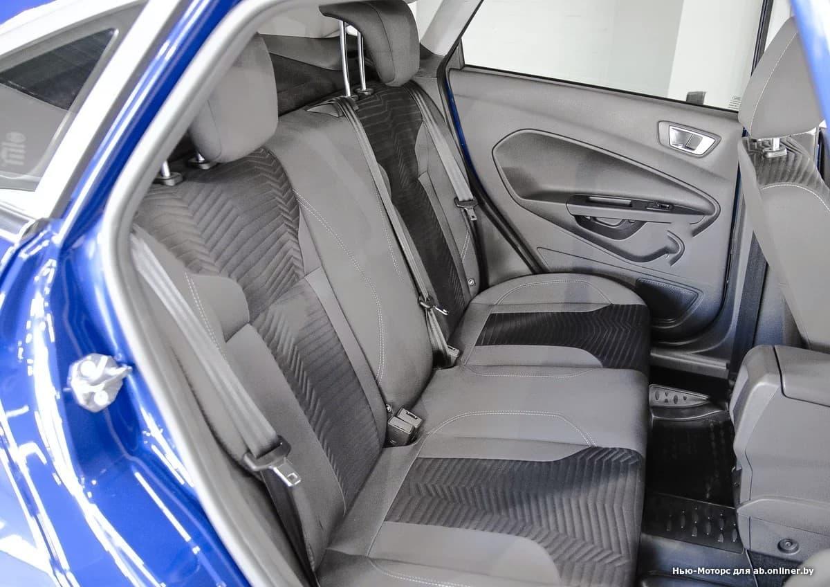 Ford Fiesta TITANIUM 1.6 л 6АКП