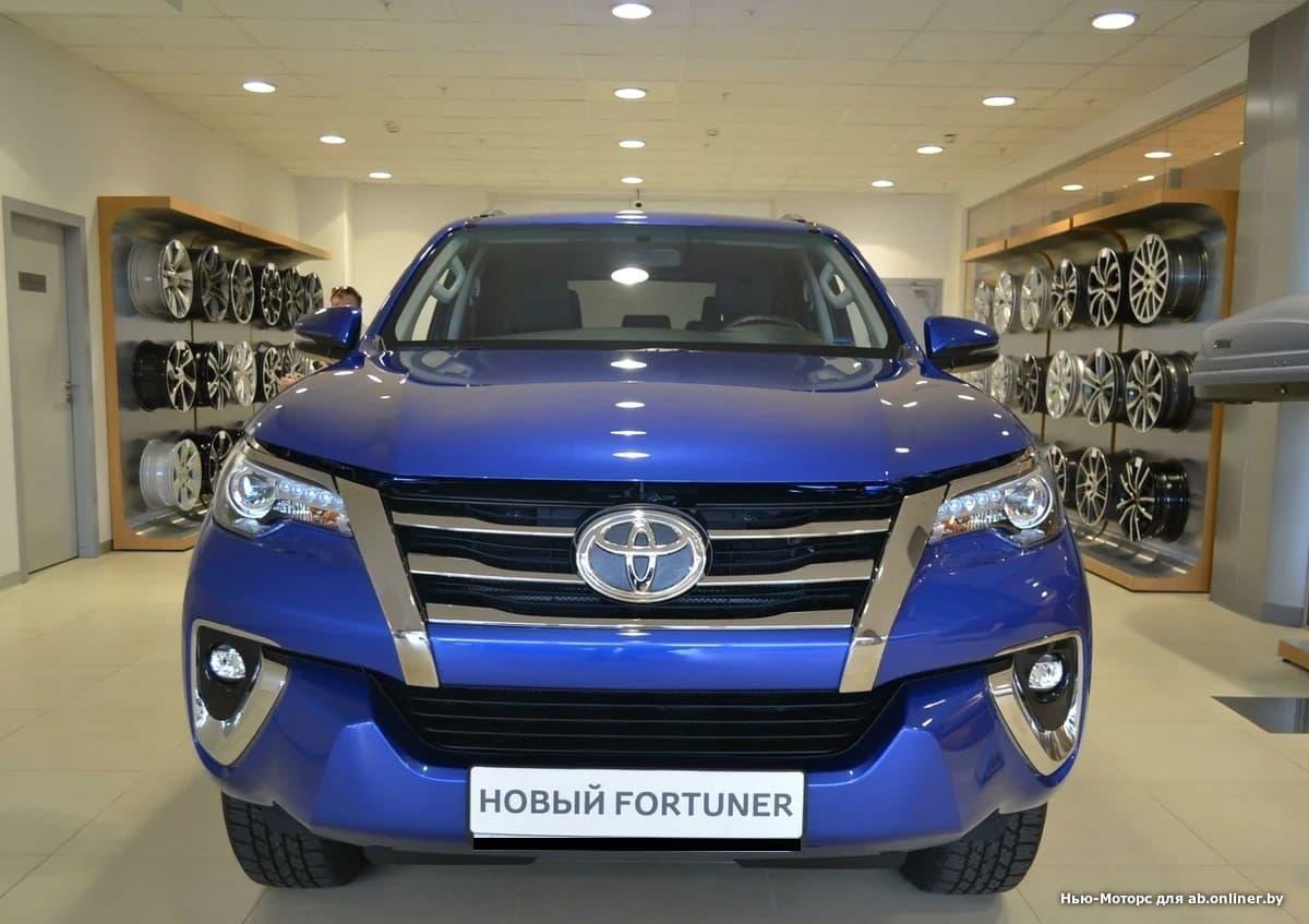Toyota Fortuner Элеганс