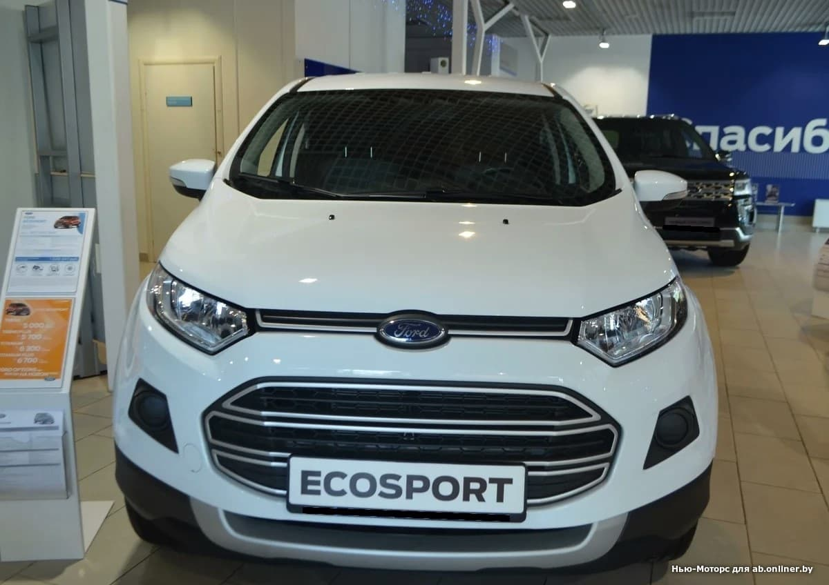 Ford EcoSport TREND 1.6 л 5МКП