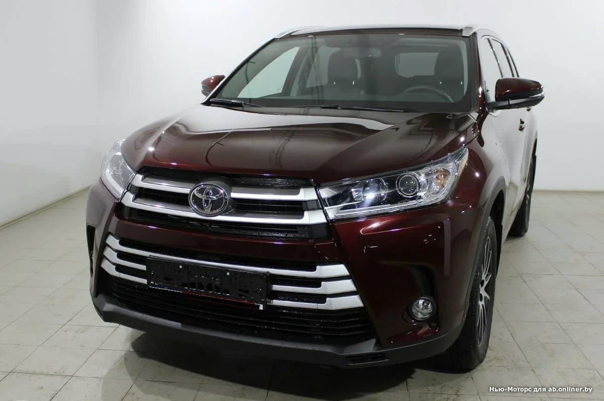 Toyota Highlander Элеганс