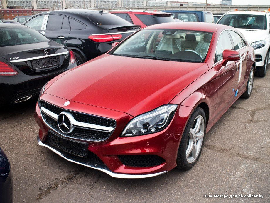 Mercedes CLS350 BlueEFFICINCY