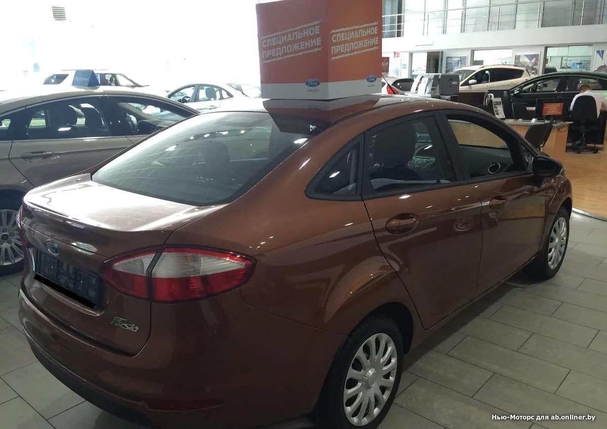 Ford Fiesta TREND 1.6 105 л.с. 6АКП