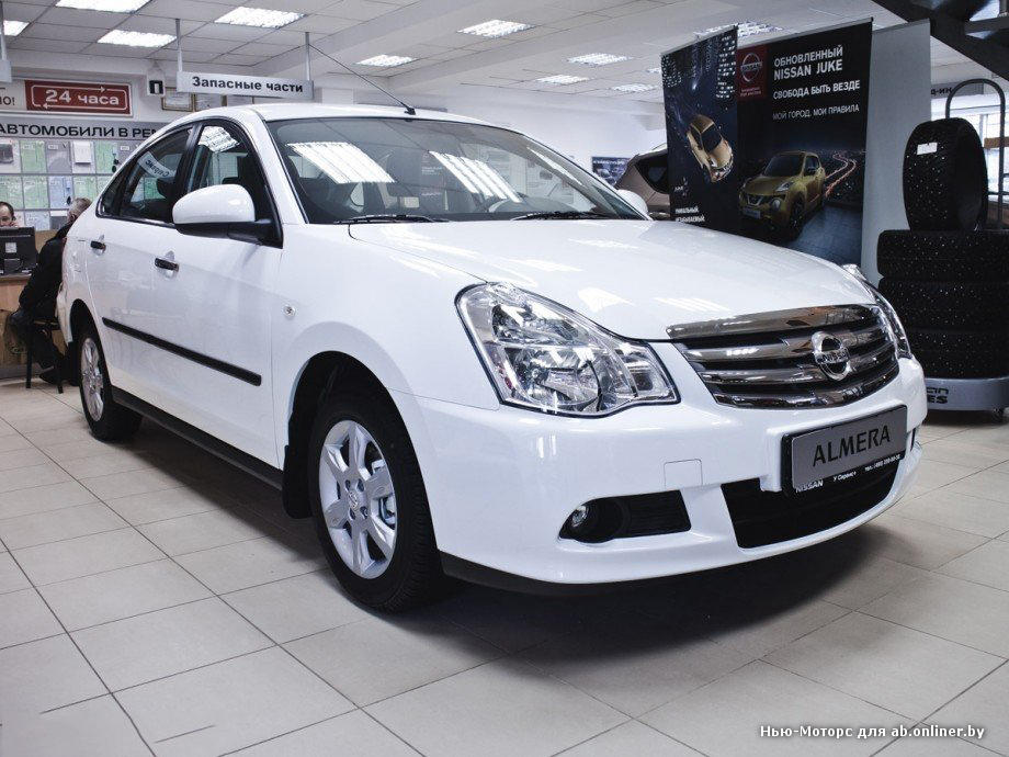 Nissan Almera Welcome