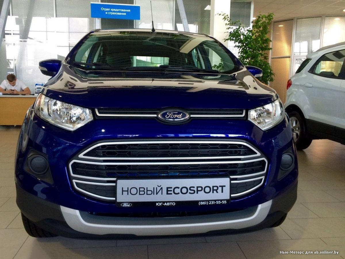 Ford EcoSport New Trend