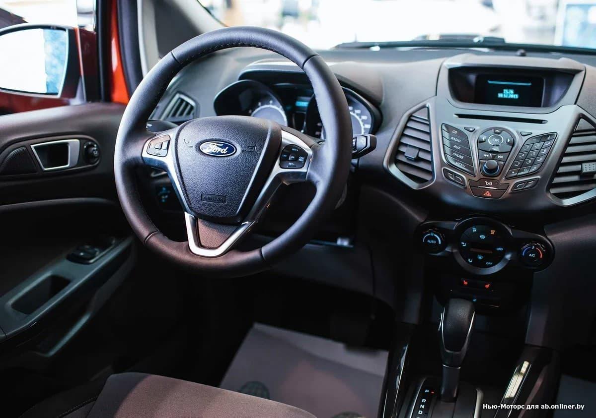 Ford EcoSport TITANIUM 1.6 л 6АКП