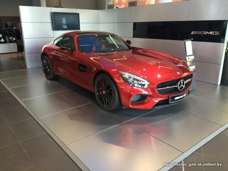 Mercedes AMG GT S Coupe