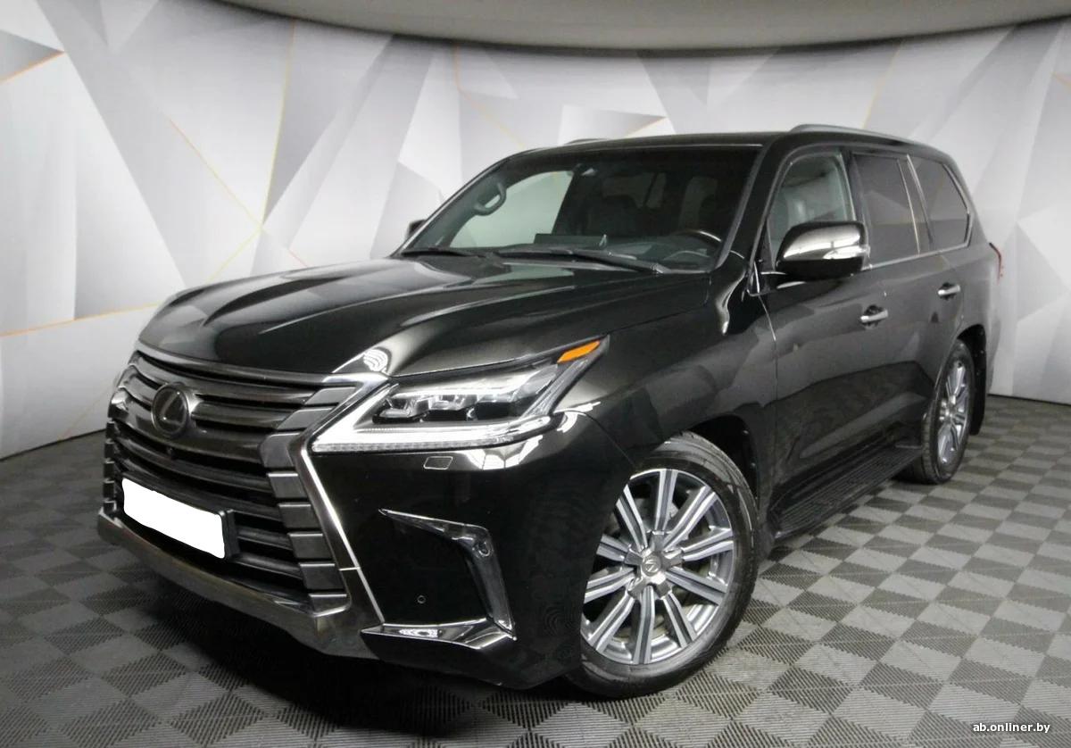 Lexus LX 570 Luxury +