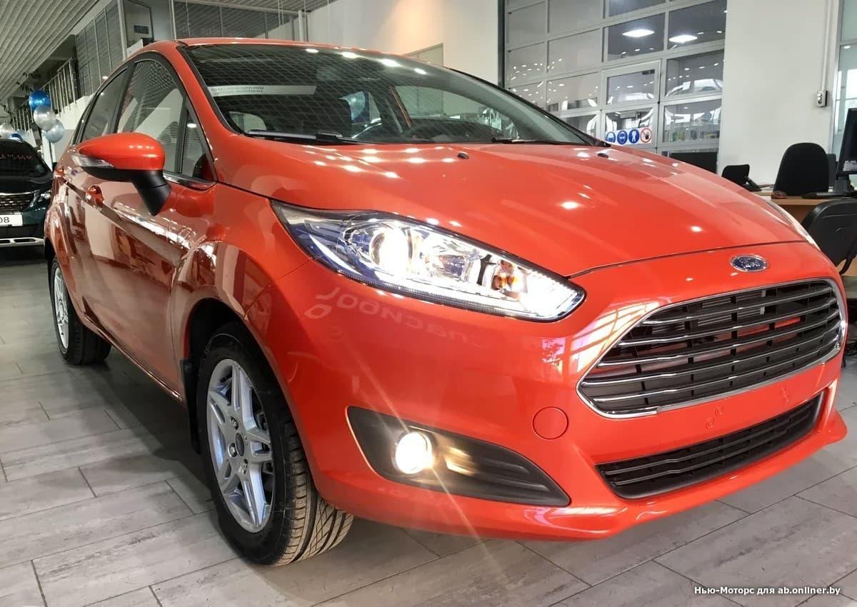 Ford Fiesta Titanium 1.6 л 6AКП