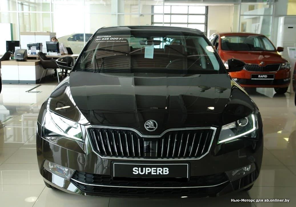 Skoda Superb Ambition 150 л.с.