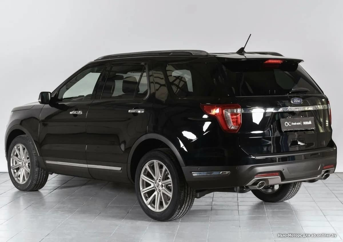 Ford Explorer LIMITED PLUS 3.5 л 6АКП
