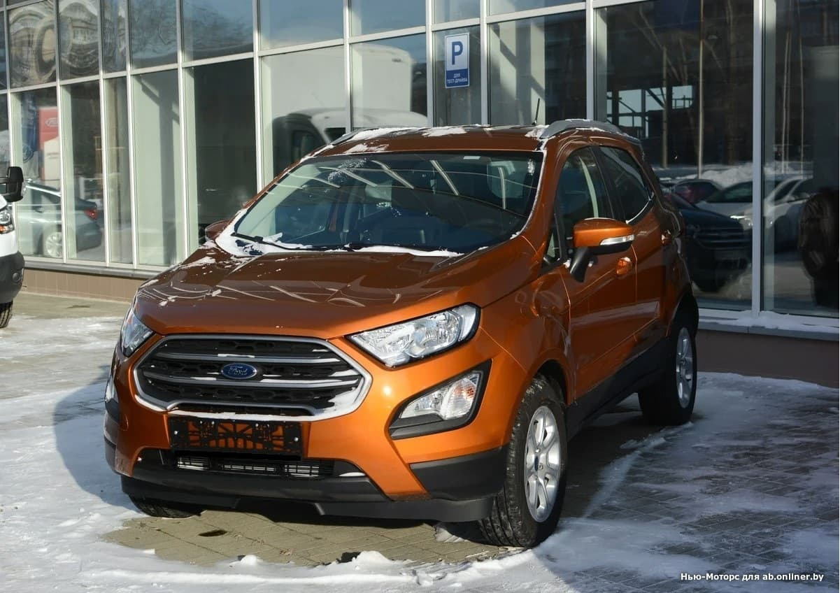 Ford EcoSport TREND PLUS 2.0 л 6АКП
