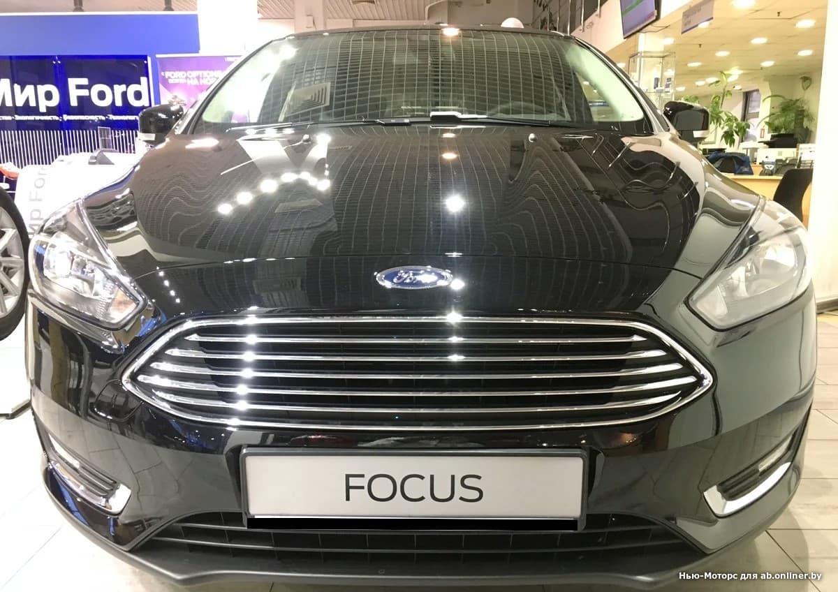 Ford Focus TITANIUM 1.6 л 5МКП