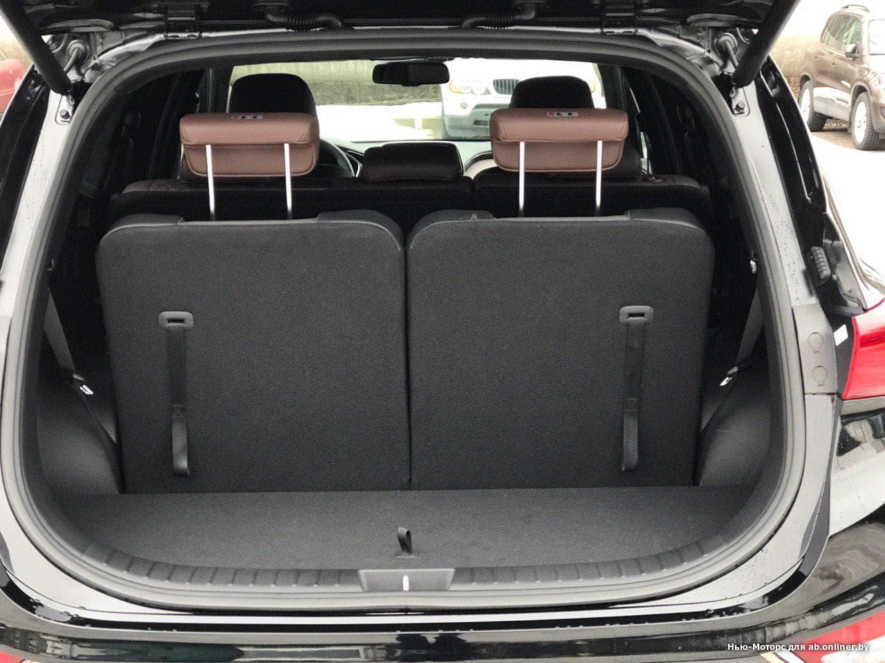 Hyundai Santa Fe Black and Brown
