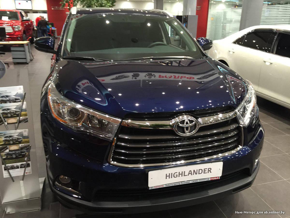 Toyota Highlander (Тойота Хайлендер) - Продажа, Цены ...