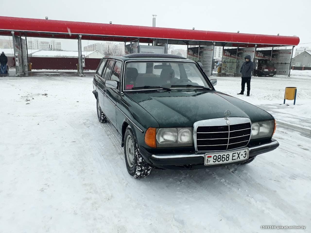 Mercedes E300 W123