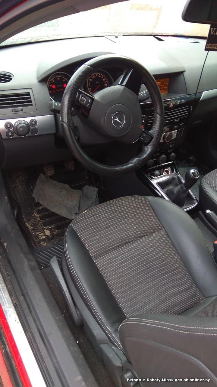 Opel Astra H GTC OPC-обвес
