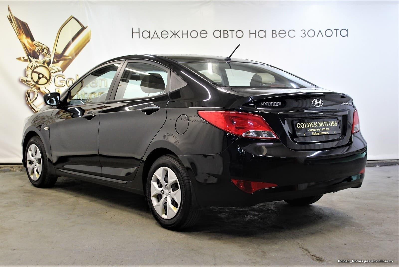 Hyundai Solaris I (рестайлинг)