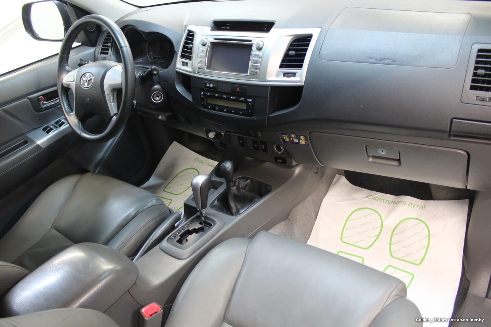 Toyota Hilux (AN10)(2-й рестайлин