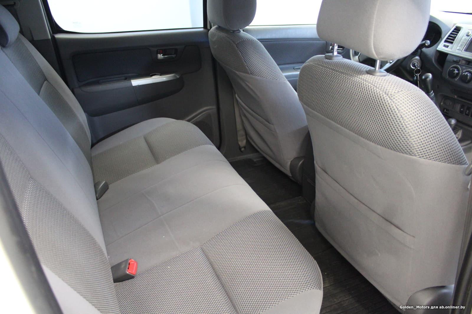 Toyota Hilux VII (2-й рестайлинг