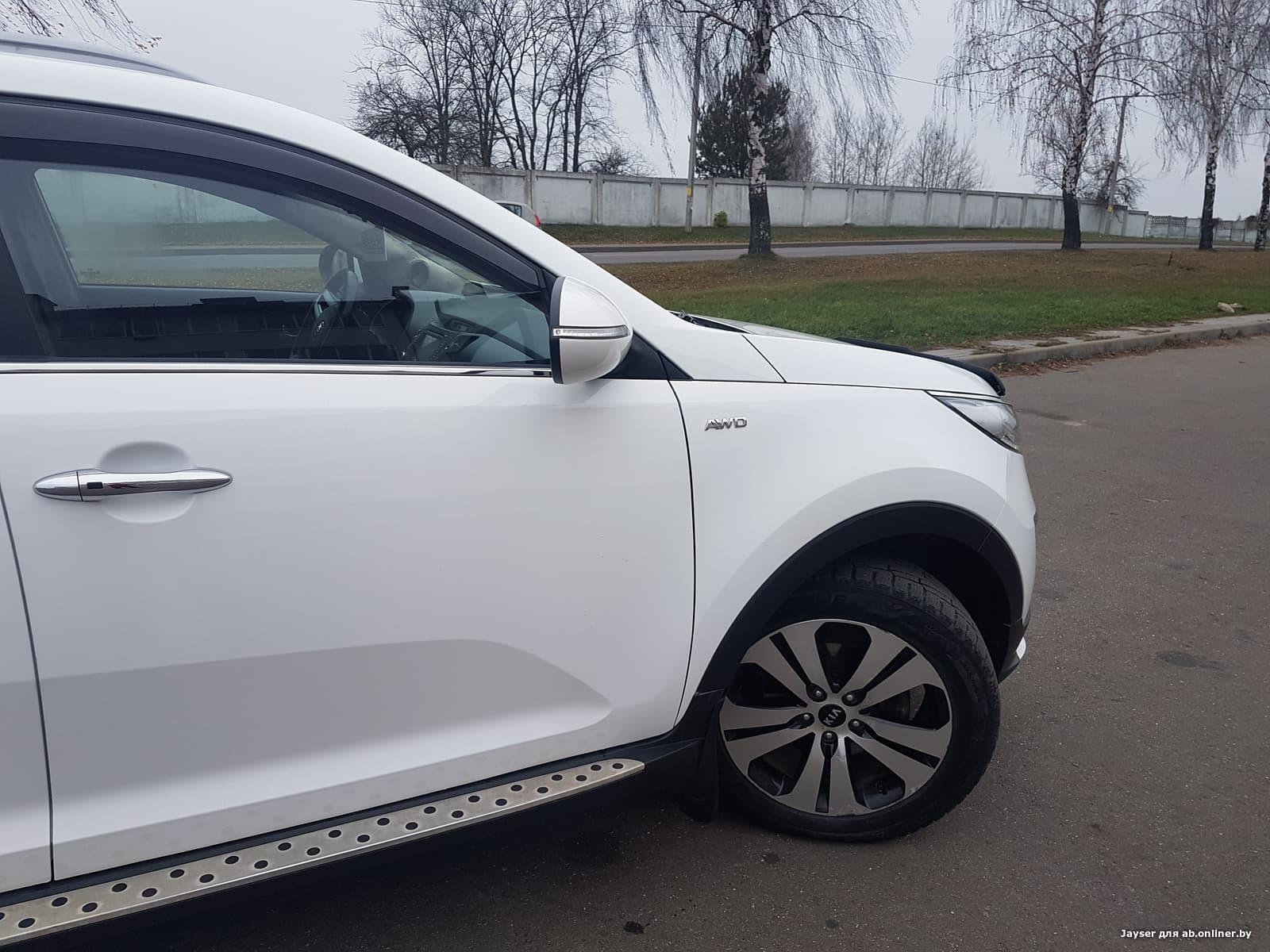 Kia Sportage 2.4 литра 177 л.с