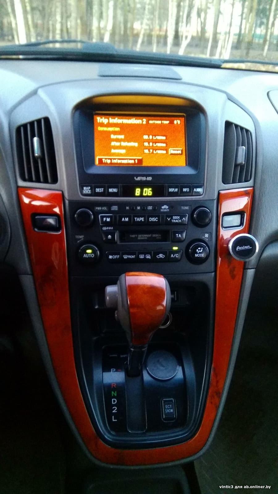 Lexus RX Европеец